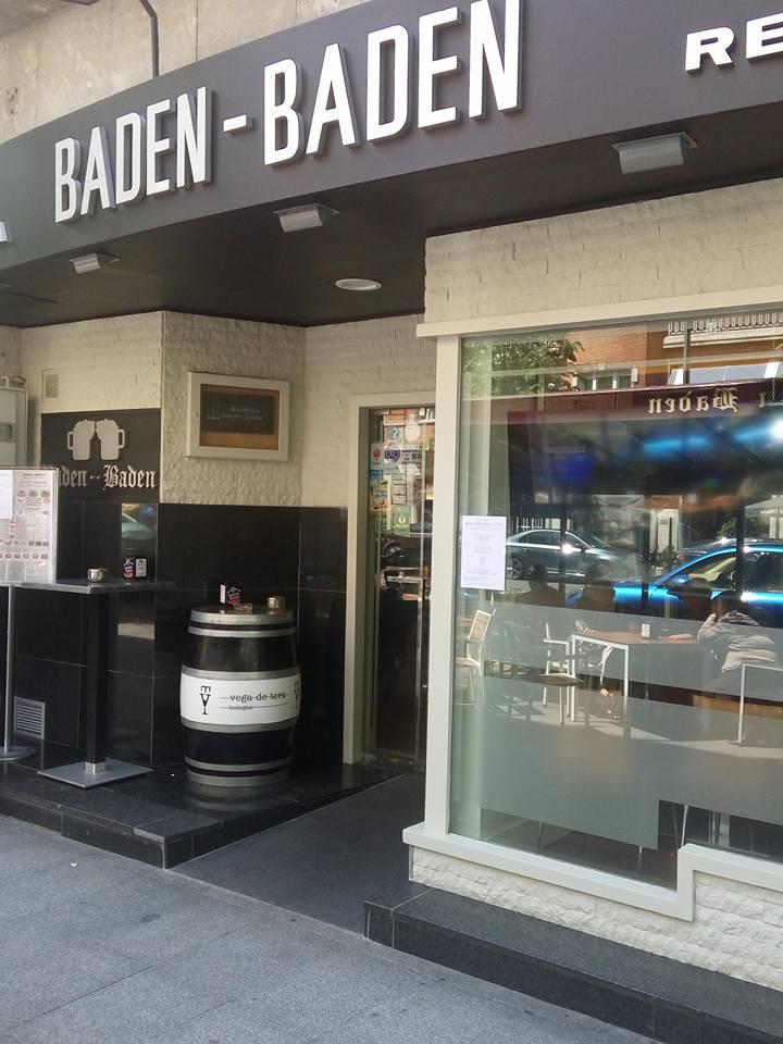 Restaurante Baden, Gran Vía 75, Bilbao