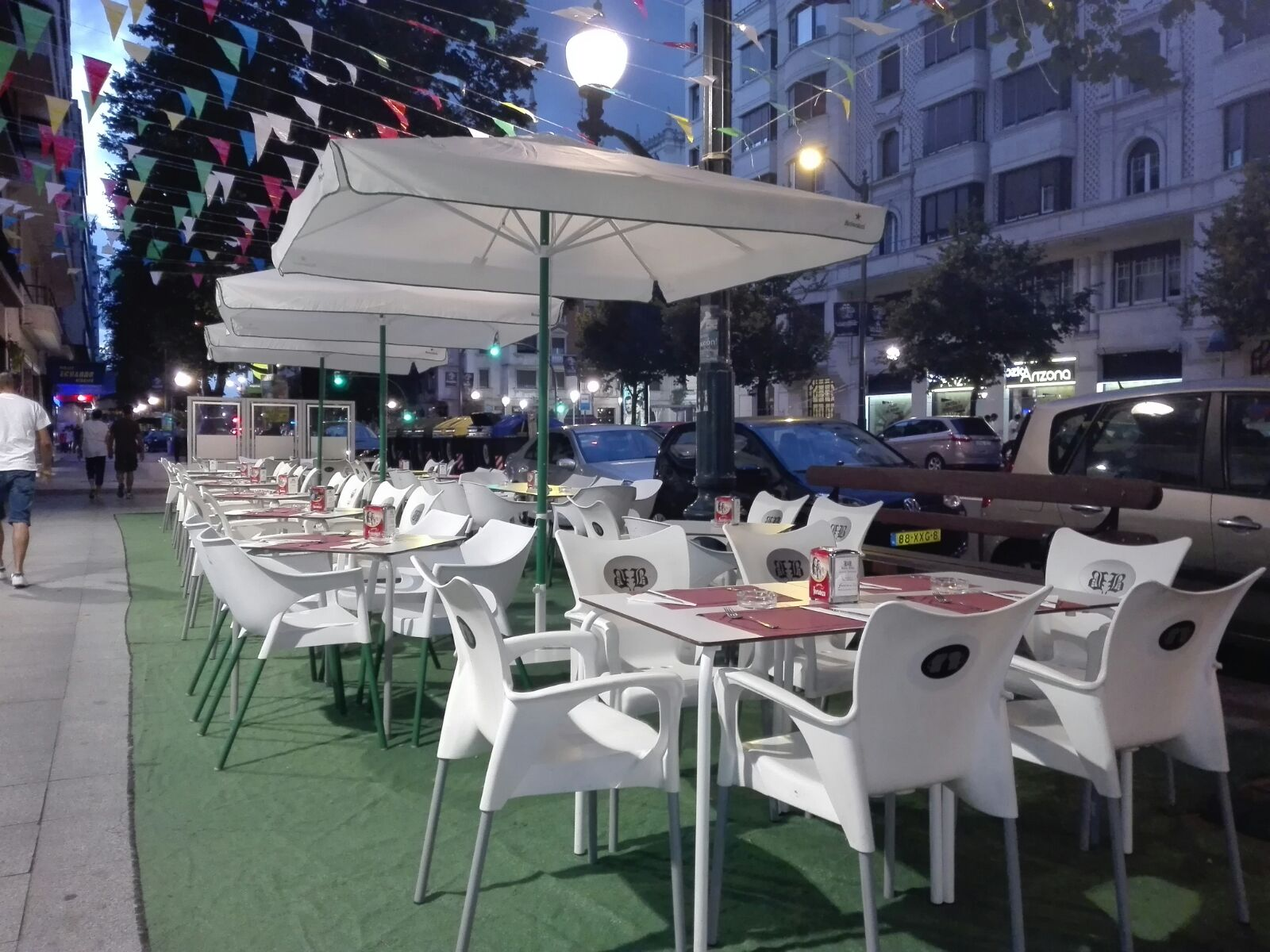 Restaurante Baden, terraza