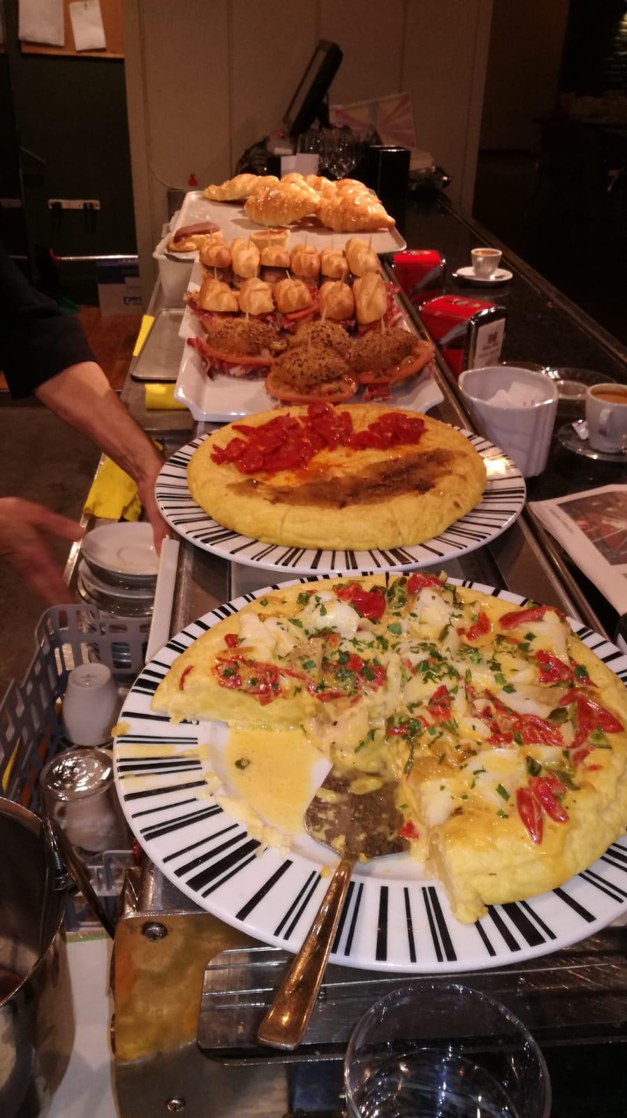Pintxos Restaurante Baden en Bilbao